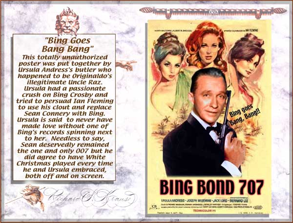 bing crosby james bond goes bang bang