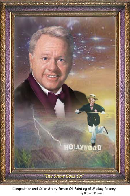 Mickey Rooney The Show Goes On