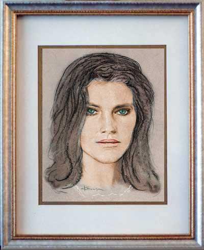 Drawings Jacqueline Bisset